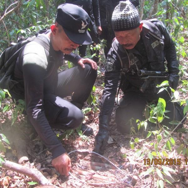 Penemuan lubang dan jerat aktif