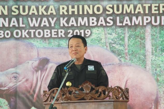 Governor of Lampung, Ir. H. Arinal Djunaidi
